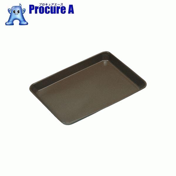 フロンケミカル フッ素樹脂コーティング浅型バット 浅15 膜厚約50μ NR0374-007 ▼835-8662 (株)フロンケミカル