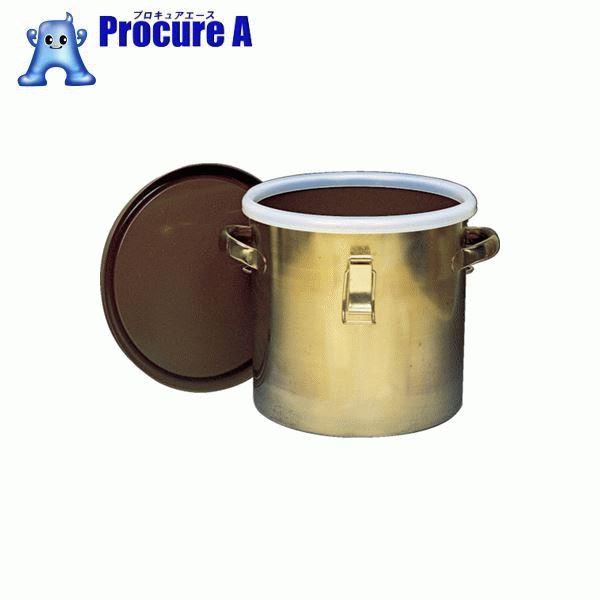 フロンケミカル フッ素樹脂コーティング密閉タンク(金具付) 膜厚約50μ 15L NR0378-003 ▼835-8687 (株)フロンケミカル