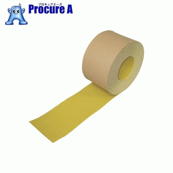 NCA ノンスリップテープ 100×18m 黄 NSP10180 ▼337-0828 (株)ノリタケコーテッドアブレーシブ