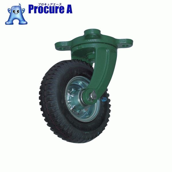 TRUSCO 鋼鉄製運搬車用空気タイヤ 鋳物金具自在Φ223(2.50-4) OARJ-223 ▼389-9381 トラスコ中山(株)