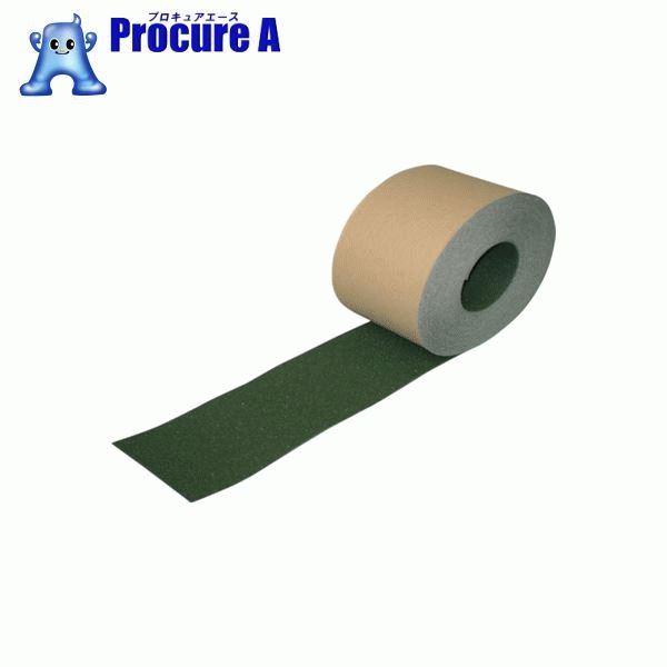 NCA ノンスリップテープ(標準タイプ) 緑 NSP30018 ▼435-7744 (株)ノリタケコーテッドアブレーシブ