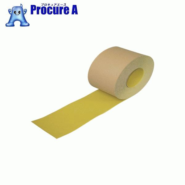 NCA ノンスリップテープ(標準タイプ) 黄 NSP30018 ▼435-7779 (株)ノリタケコーテッドアブレーシブ