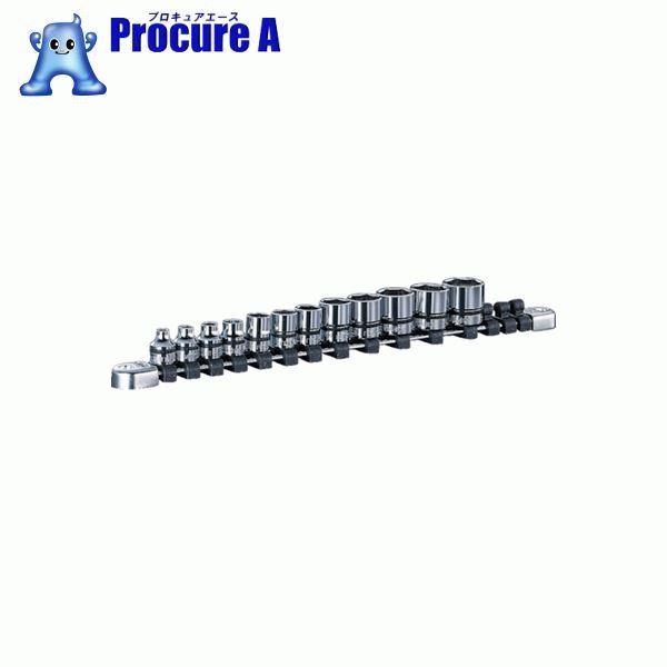 ネプロス 9.5sq.ソケットセット[12コ組] NTB312A ▼807-0548 京都機械工具(株)