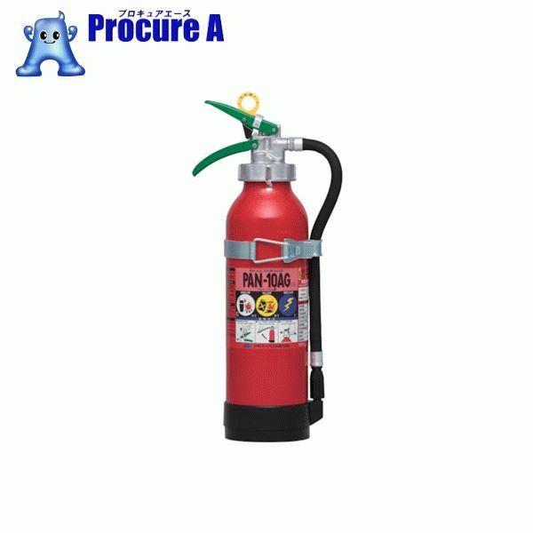 ドライケミカル 自動車用消火器10型 PAN-10AG1 ▼390-4032 日本ドライケミカル(株)