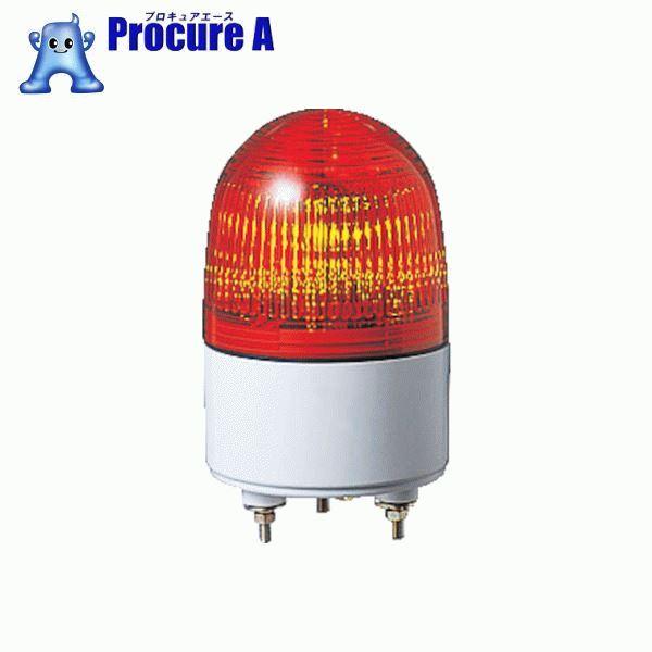 パトライト 小型LED表示灯 色:赤 PES-200A-R ▼453-8421 (株)パトライト