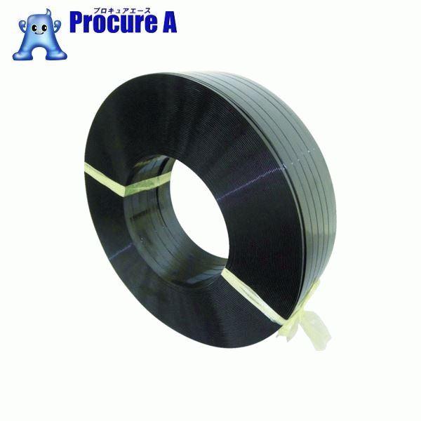 積水 ポリエステルバンド1904×1100M-黒 PET1904M ▼798-2836 積水樹脂(株)