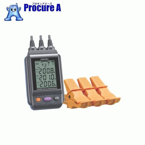HIOKI 電圧計付検相器 PD3259 ▼818-3844 日置電機(株)