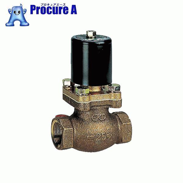 CKD 空気用パイロットキック式2ポート電磁弁 PKA-10-27-AC100V ▼110-3458 CKD(株)