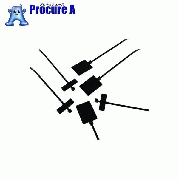 パンドウイット 旗型タイプナイロン結束バンド 耐候性黒 (1000本入) PLF1MA-M0 ▼438-2749 パンドウイットコーポレーション