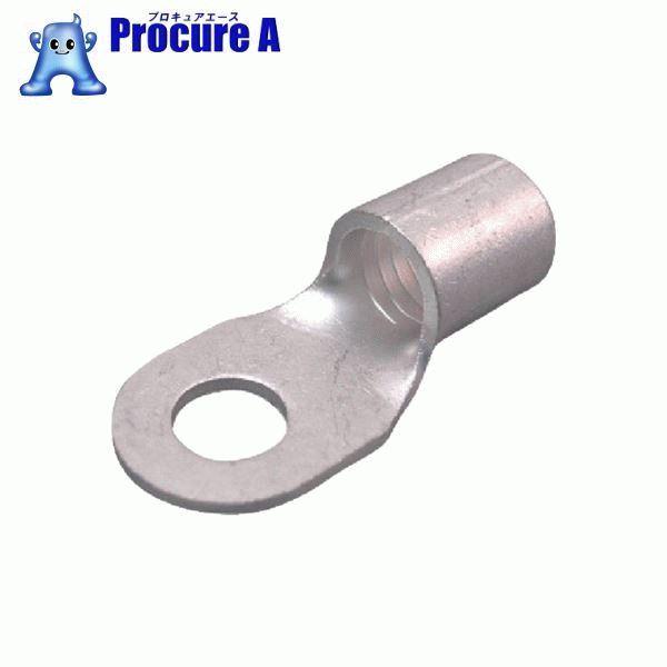 ニチフ 裸圧着端子 R形(100P)より線42.42~60.57 外寸22 R 60-10 ▼473-1581 (株)ニチフ端子工業