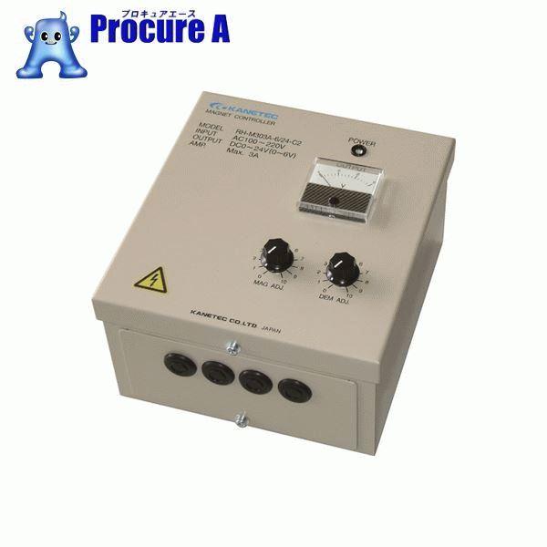 カネテック 電磁ホルダ高速制御装置 RH-M303A-6/24-C2 ▼756-6310 カネテック(株) 【代引決済不可】