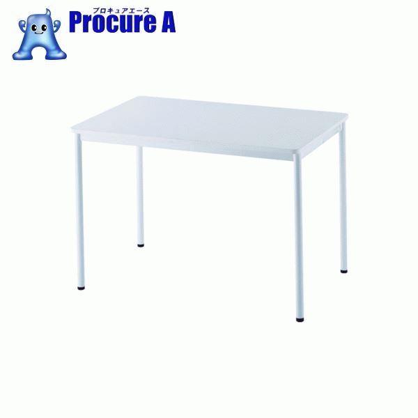 アールエフヤマカワ RFシンプルテーブル W1000×D700 ホワイト RFSPT-1070WH ▼819-5193 アール・エフ・ヤマカワ(株)
