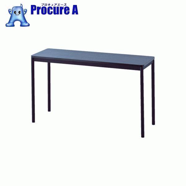 アールエフヤマカワ RFシンプルテーブル W1200×D400 ダーク RFSPT-1240DB ▼819-5194 アール・エフ・ヤマカワ(株)
