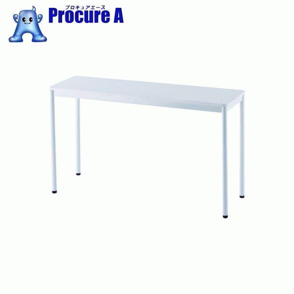 アールエフヤマカワ RFシンプルテーブル W1200×D400 ホワイト RFSPT-1240WH ▼819-5196 アール・エフ・ヤマカワ(株)