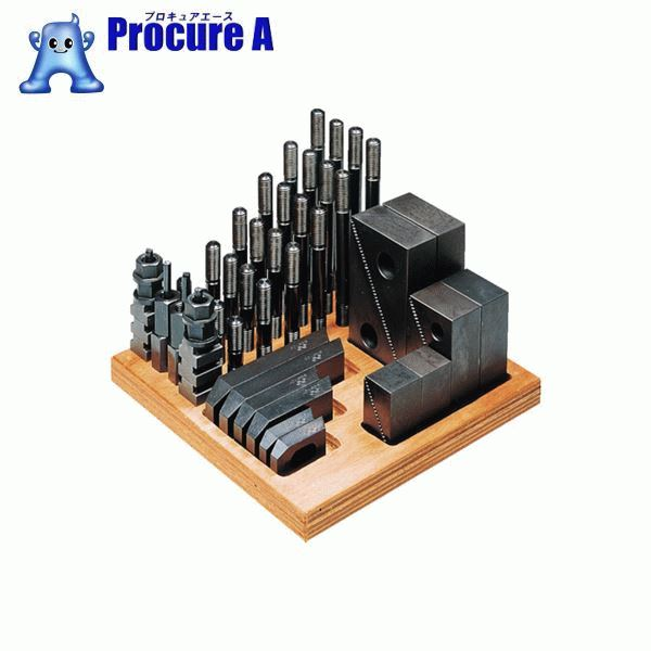 スーパーツール クランピングキット(M10)T溝:14 S1410-CK ▼176-2044 (株)スーパーツール