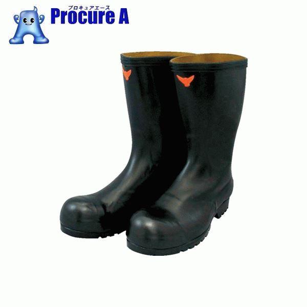 SHIBATA 安全耐油長靴(黒) SB021-26.5 ▼324-2331 シバタ工業(株)