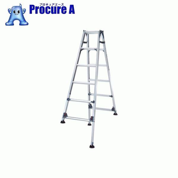 ピカ 四脚アジャスト式脚立かるノビSCL型 自在脚タイプ5~6尺 SCL-J180A ▼365-8945 (株)ピカコーポレイション Pica