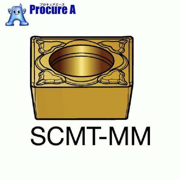 サンドビック コロターン107 旋削用ポジ・チップ 2025 COAT SCMT 09 T3 08-MM 2025 10個▼610-6102 サンドビック(株)コロマントカンパニー