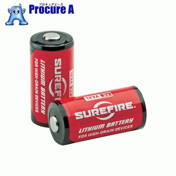 SUREFIRE まとめ買い バッテリー400個(1ケース) SF400-BULK ▼490-4974 SUREFIRE社