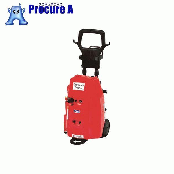 【送料無料】スーパー工業 モーター式 高圧洗浄機 SH-0807K-A(100V型) SH-0807K-A [K]453-7530[115138][APA] スーパー工業(株) 【代引決済不可】