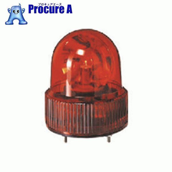 パトライト SKH-A型 小型回転灯 Φ118 オールプラスチックタイプ 色:黄 SKH-120A-Y ▼100-4603 (株)パトライト