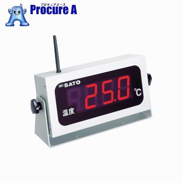 佐藤 コードレス温度表示器(8101-00) SK-M350R-T ▼479-7027 (株)佐藤計量器製作所