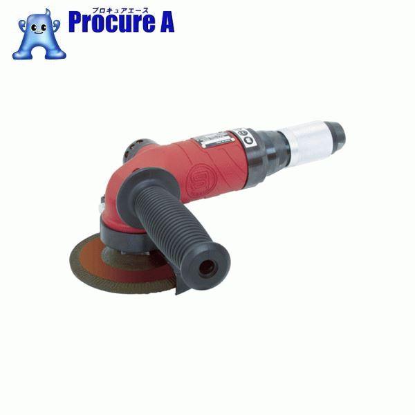 SI エアアングルグラインダー 適用砥石寸法外径×厚さ×内径(mm)100×6×15 SI-AG4-A2RJ ▼486-0161 信濃機販(株)