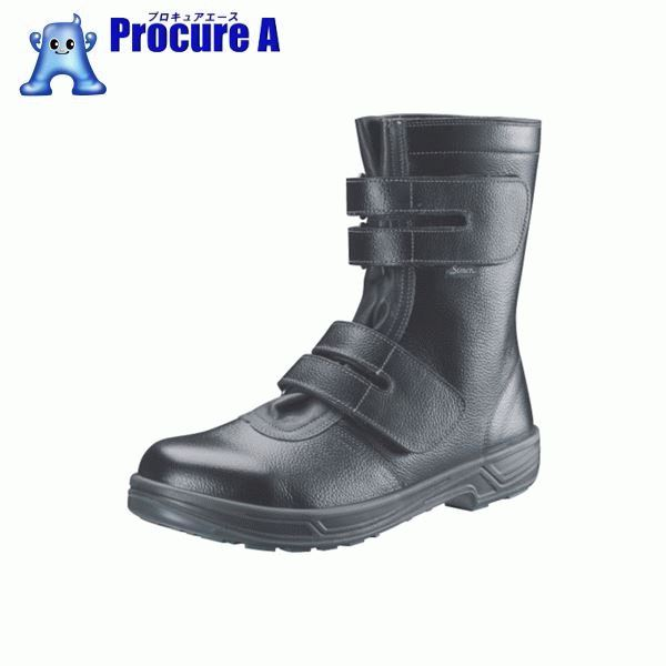シモン 安全靴 長編上靴マジック式 SS38黒 24.0cm SS38-24.0 ▼368-3109 (株)シモン