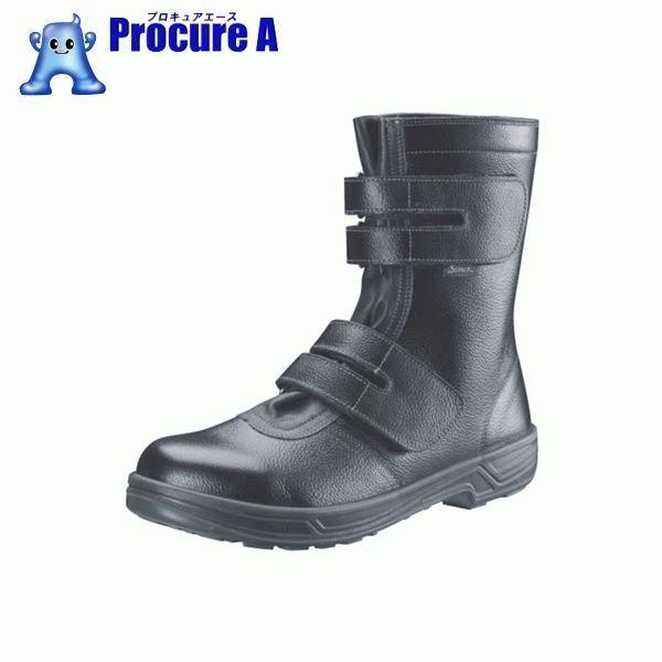 シモン 安全靴 長編上靴マジック式 SS38黒 27.5cm SS38-27.5 ▼368-3176 (株)シモン