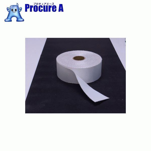 TRUSCO ノンセラクロステープ 0.8X100mm 20m 片面樹脂加工 TACT-08100 ▼818-3802 トラスコ中山(株)