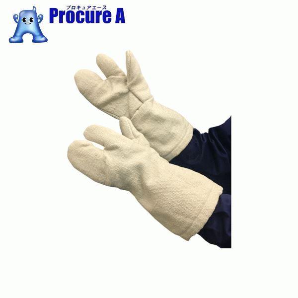 TRUSCO 生体溶解性セラミック耐熱手袋 3本指タイプ TCAT3-A ▼856-7496 トラスコ中山(株)