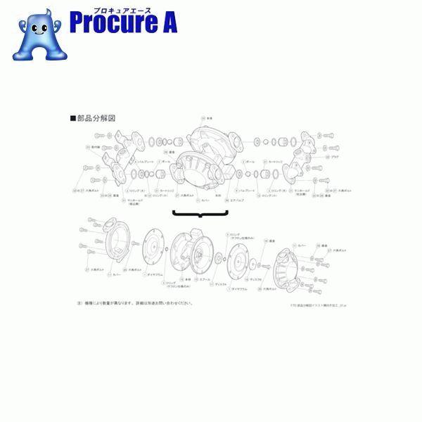 TAIYO TD2-25ST用パッキンセット TD2/25STPKS ▼828-9227 (株)TAIYO