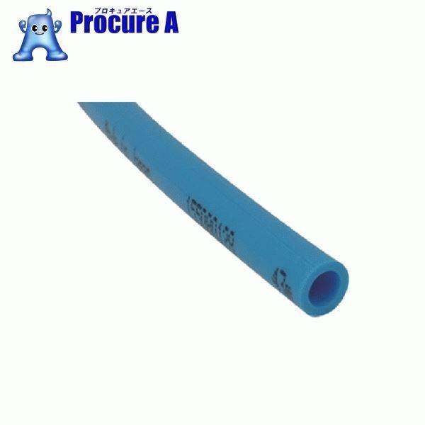 チヨダ TEタッチチューブ 10mm/100m ライトブルー TE-10-100 LB ▼491-7812 千代田通商(株)