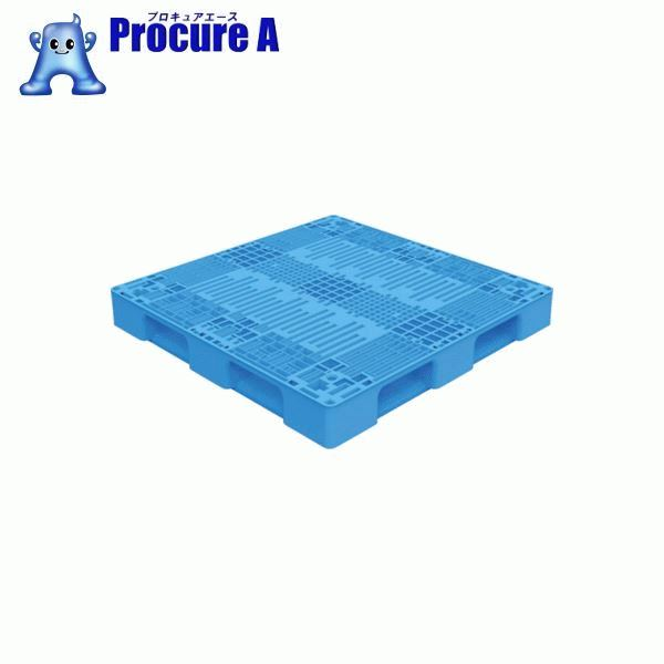 TRUSCO TMSC型樹脂パレット 1100X1100 青 TMSC-P1111-B ▼769-8151 トラスコ中山(株) 【代引決済不可】