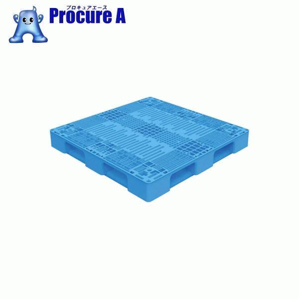 TRUSCO TMSC型樹脂パレット 1100X1100 黒 TMSC-P1111-BK ▼769-8160 トラスコ中山(株) 【代引決済不可】
