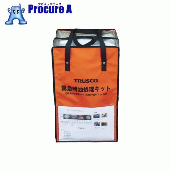 TRUSCO 緊急時油処理キット M TOKK-M ▼764-7786 トラスコ中山(株) 【代引決済不可】