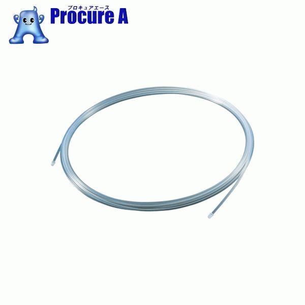 TRUSCO フッ素樹脂チューブ 内径10mmX外径12mm 長さ20m TPFA12-20 ▼256-3053 トラスコ中山(株)