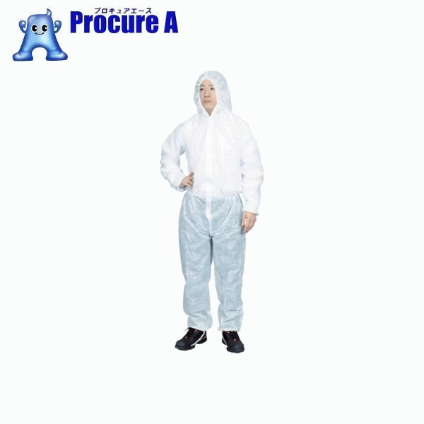 TRUSCO まとめ買い 保護服(1層タイプ) Lサイズ  (50着入) TPSB-L ▼767-2306 トラスコ中山(株)
