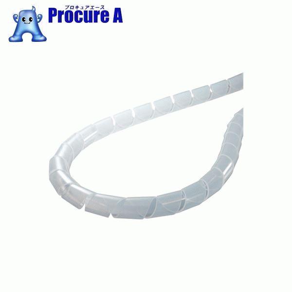 ヘラマンタイトン スパイラルチューブ (ポリエチレン製) 乳白 長さ50m TS-15 ▼433-7808 ヘラマンタイトン(株)