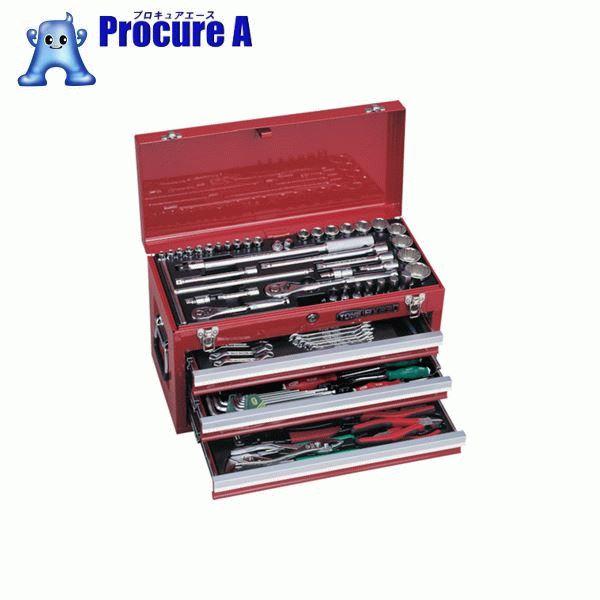 激安単価で :プロキュアエース TONE ツールセット 差込角9.5mm 12.7mm 86点セット  TSX950BK  ▼337-8381 TONE(株)-DIY・工具