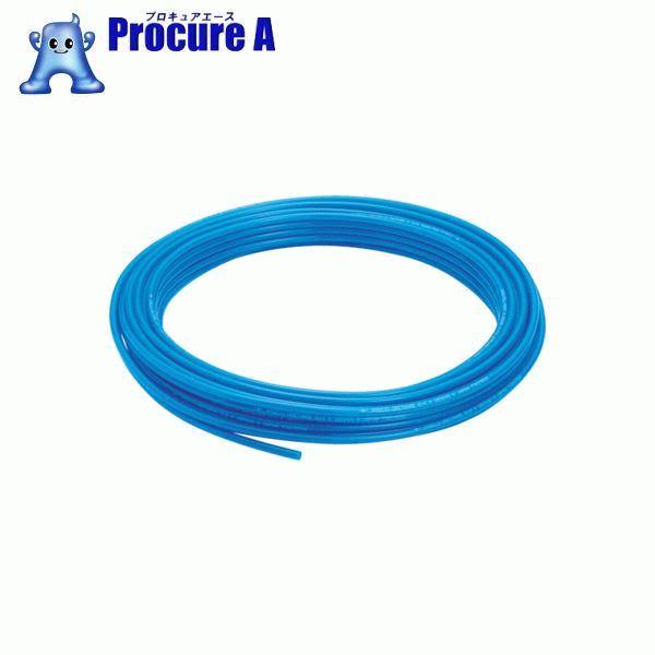 ピスコ ポリウレタンチューブ ブルー 10×6.5 100M UB1065-100-BU ▼818-2341 (株)日本ピスコ