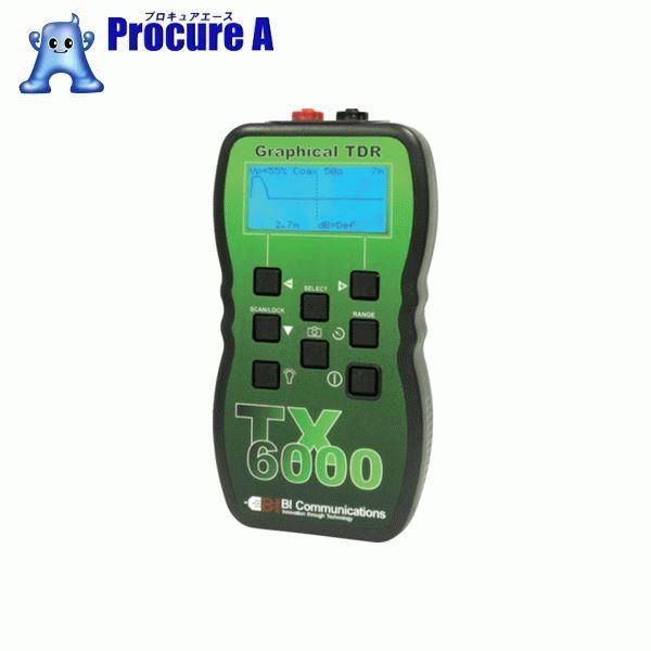 グッドマン TDRケーブル測長機TX6000 TX6000 ▼836-2901 (株)グッドマン