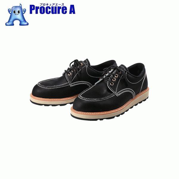 青木安全靴 US-100BK 24.5cm US-100BK-24.5 ▼855-9137 青木産業(株)