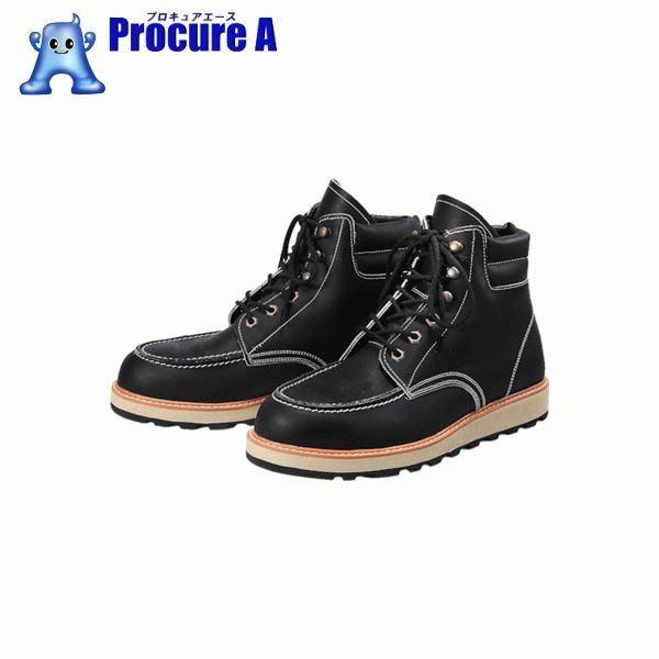 青木安全靴 US-200BK 24.0cm US-200BK-24.0 ▼855-9166 青木産業(株)