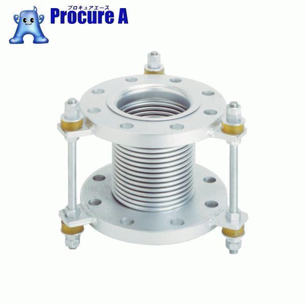 トーフレ フランジ無溶接型防振継手 10K SS400 150AX150L VJ10K-150-150 ▼439-8602 トーフレ(株)