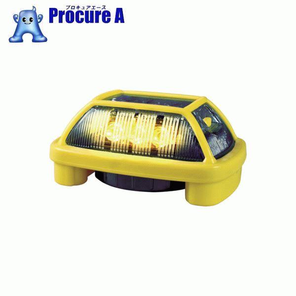 NIKKEI ニコハザード VK16H型 LED警告灯 黄 VK16H-004H3Y ▼818-3277 (株)日惠製作所