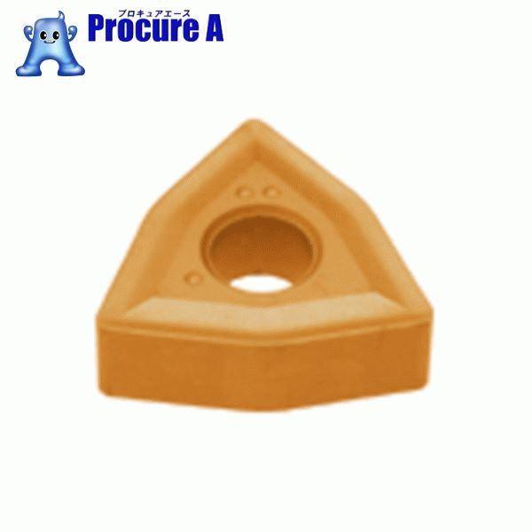 タンガロイ 旋削用M級ネガTACチップ COAT 10個 WNMG060404 T9015 ▼702-6455 (株)タンガロイ