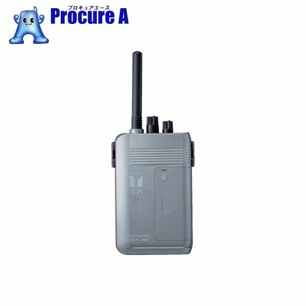 TOA 携帯型受信機(高機能型) WT-1100 ▼453-7751 TOA(株)