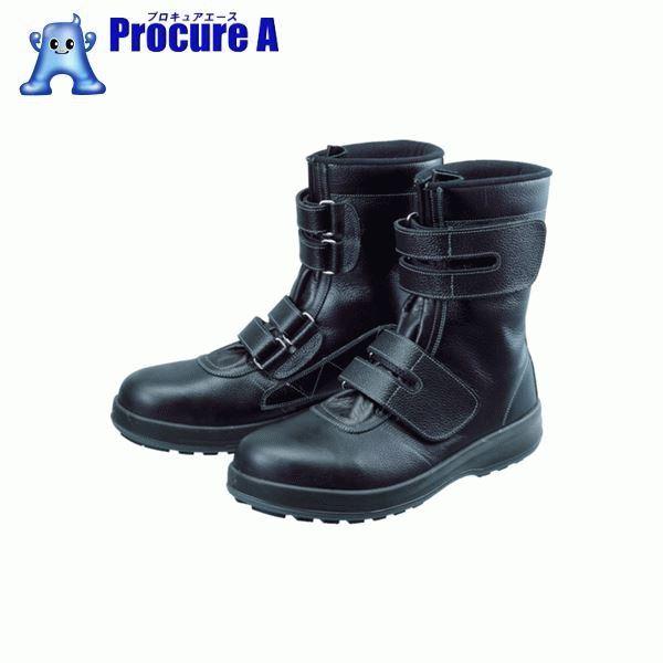 シモン 安全靴 長編上靴 マジック WS38黒 23.5cm WS38-23.5 ▼491-4911 (株)シモン
