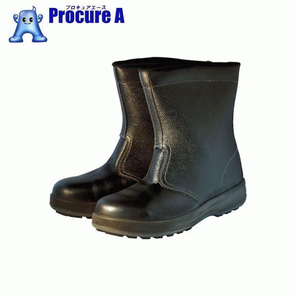 シモン 安全靴 半長靴 WS44黒 23.5cm WS44BK-23.5 ▼757-0848 (株)シモン